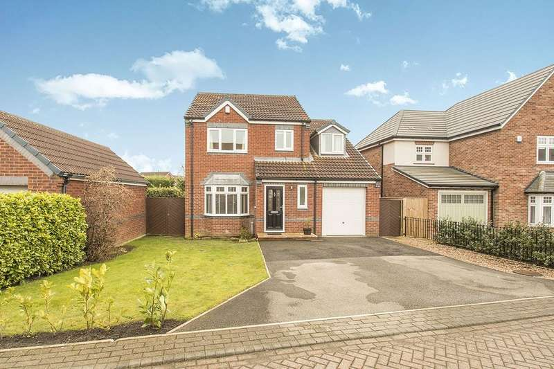 4 Bedrooms Detached House for sale in Woodlands Drive, East Ardsley, Wakefield, WF3
