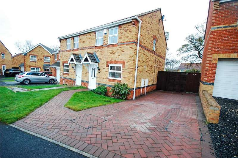 3 Bedrooms Semi Detached House for sale in Halesworth Drive, Havelock Park, Sunderland