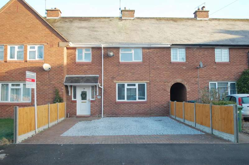 3 Bedrooms Terraced House for sale in Alauna Avenue, Alcester, B49