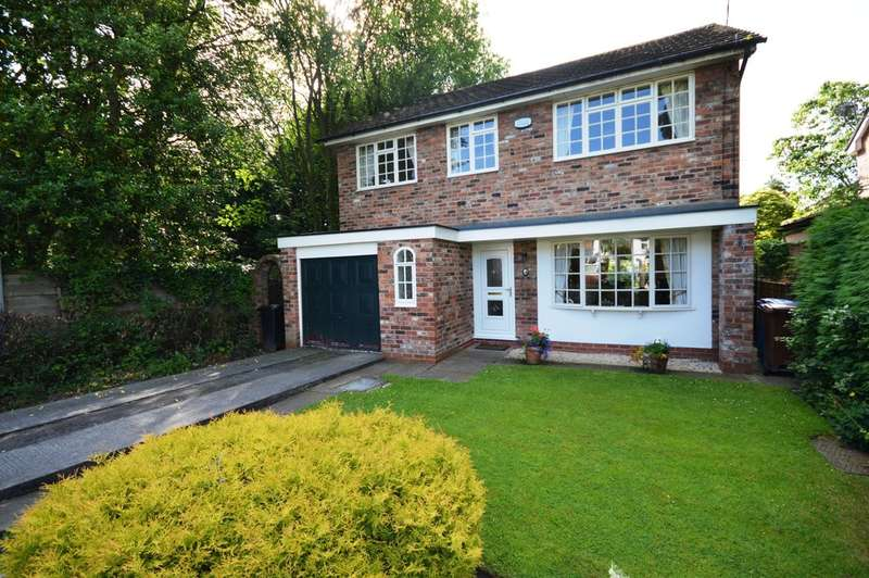 4 Bedrooms Detached House for sale in Moseley Road Cheadle Hulme