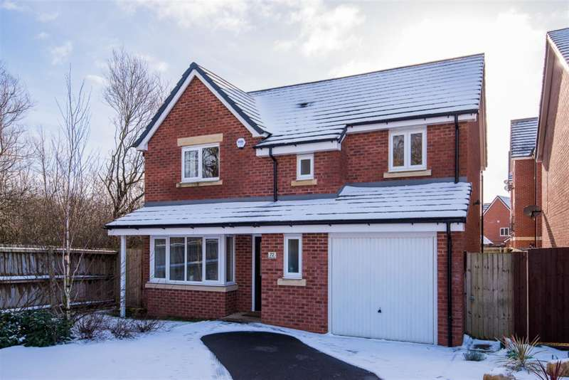 4 Bedrooms Detached House for sale in Moss Lane, Worsley, Manchester, M28 3NF