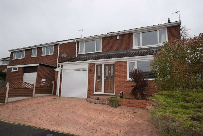 4 Bedrooms Detached House for sale in Hayes End, Desford LE9