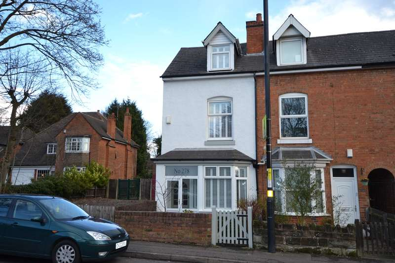 3 Bedrooms End Of Terrace House for sale in Yardley Wood Road, Moseley , Birmingham, B13