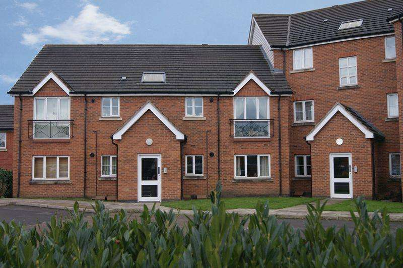 2 Bedrooms Apartment Flat for sale in Apple Tree Close, Newark