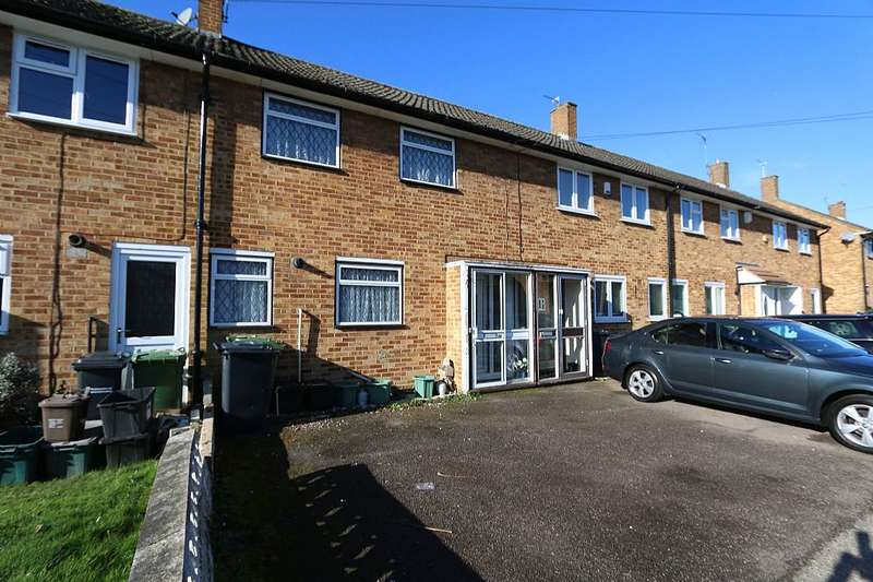 2 Bedrooms Terraced House for sale in Birchfield Road, Cheshunt, Waltham Cross, Hertfordshire, EN8 9PH