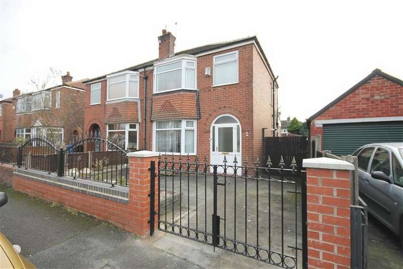 3 Bedrooms Semi Detached House for sale in Middleton Road, Reddish, Stockport