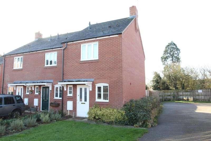 2 Bedrooms End Of Terrace House for sale in Maltings Field, Castlethorpe, Milton Keynes