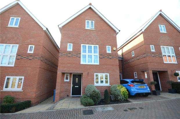 4 Bedrooms Link Detached House for sale in The Courtyard, Maidenhead, Berkshire