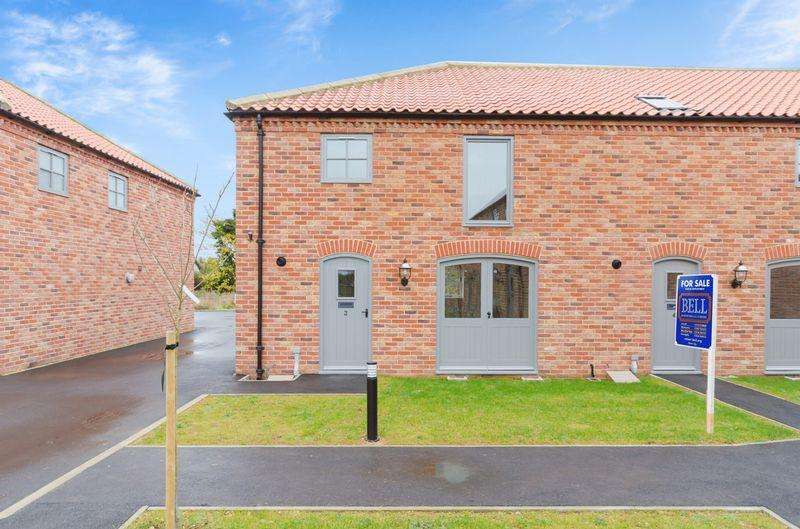 3 Bedrooms End Of Terrace House for sale in Sibsey Court, Sibsey