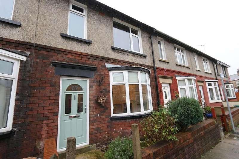 3 Bedrooms Terraced House for sale in 67, Wingate Saul Road, Lancaster, Lancashire, LA1 5DW