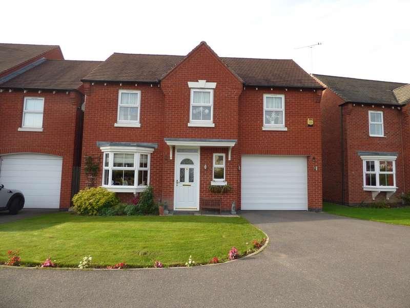 4 Bedrooms Detached House for sale in Buckingham Drive, Church Gresley DE11