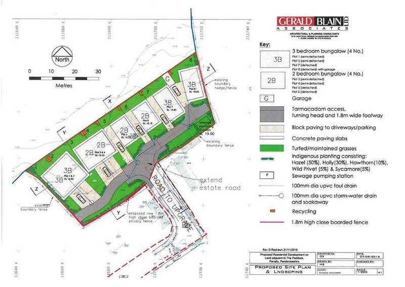 Land Commercial for sale in Building Plots, The Paddock, Tenby, Pembrokeshire, SA70