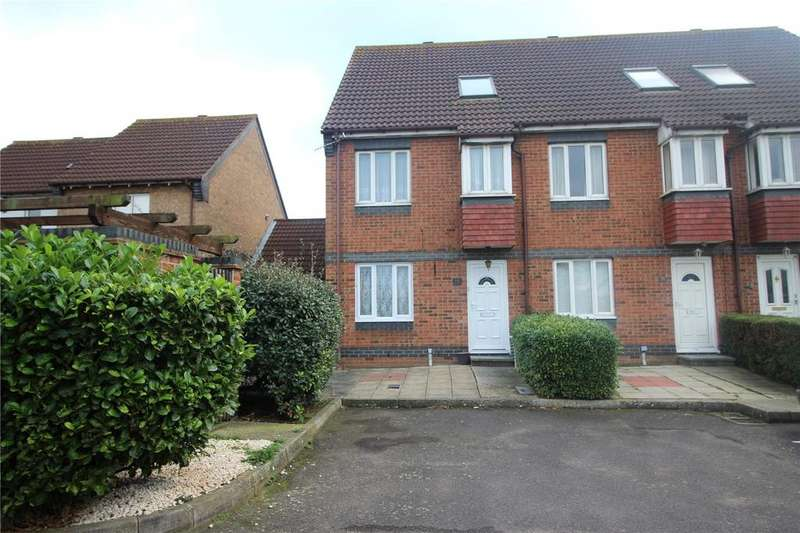 1 Bedroom Maisonette Flat for sale in Rutley Close, Harold Wood, Romford, RM3