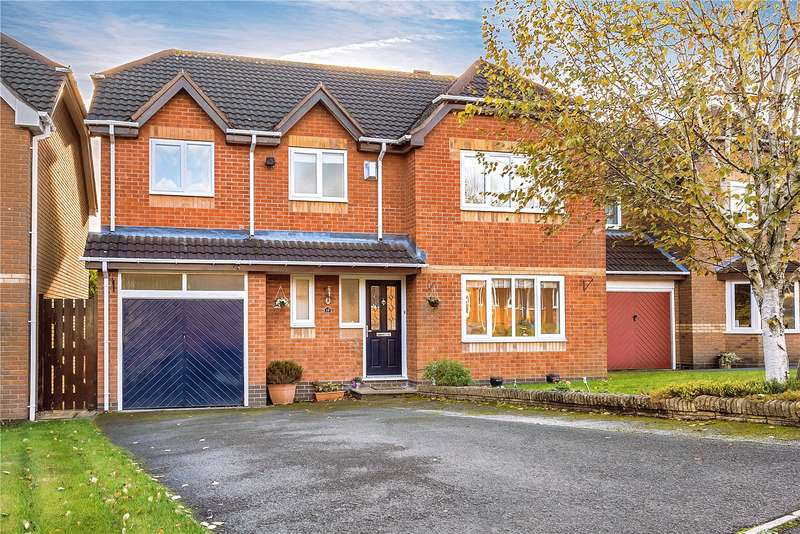 5 Bedrooms Detached House for sale in 12 Forsythia Close, Priorslee, Telford, TF2