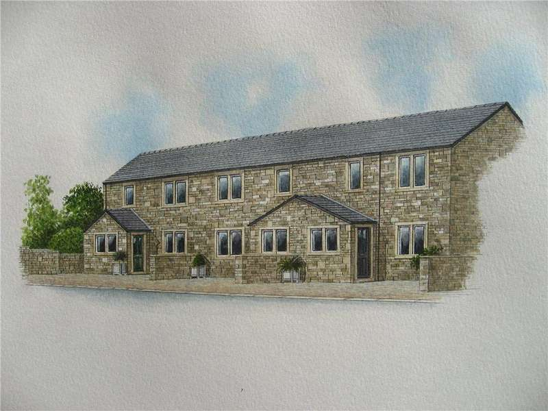 3 Bedrooms Town House for sale in Moorfield Drive, Oakworth, Keighley, West Yorkshire