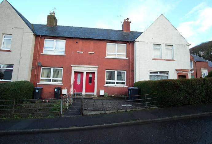 3 Bedrooms Terraced House for sale in 50 Weensland Park, Hawick, TD9 9RP