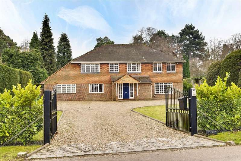 5 Bedrooms Detached House for sale in Godolphin Road, Weybridge, Surrey, KT13