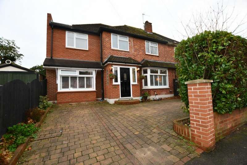4 Bedrooms Semi Detached House for sale in Lower Swaines, Epping, CM16