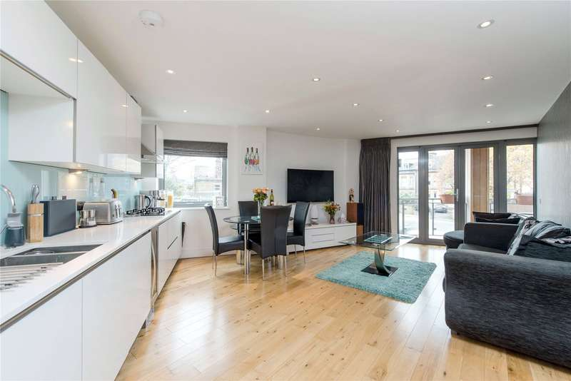 2 Bedrooms Flat for sale in Edge Apartments, 203 Merton Road, Southfields, London, SW18