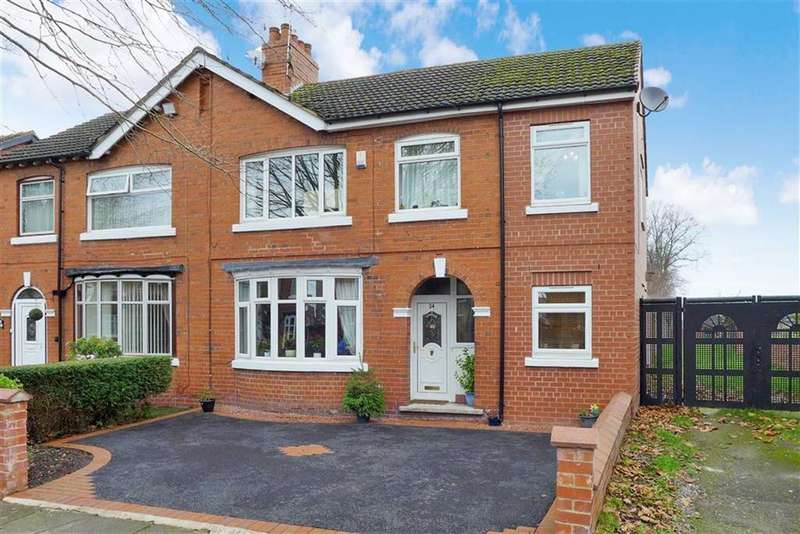 4 Bedrooms Semi Detached House for sale in Lunt Avenue, Crewe