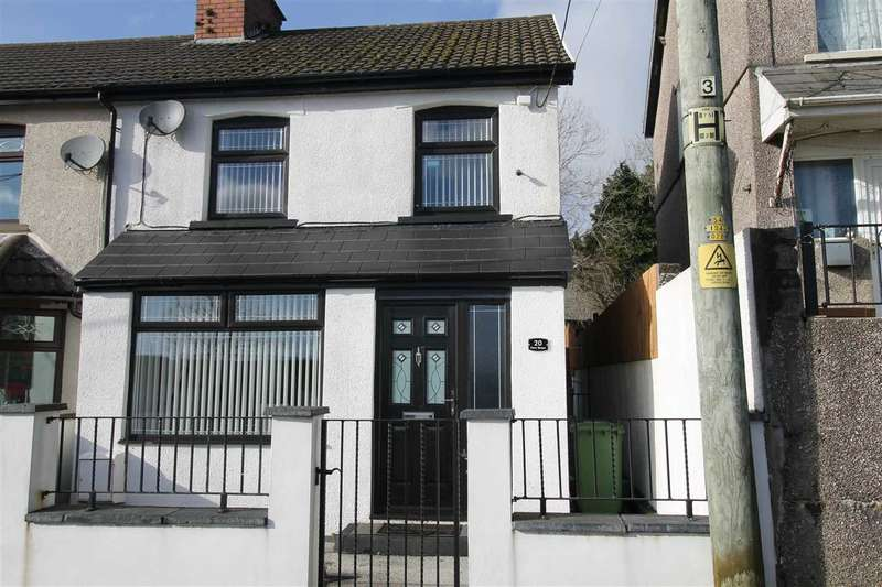 4 Bedrooms Semi Detached House for sale in Fern Street, Porth
