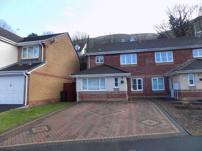 3 Bedrooms Semi Detached House for sale in Ynys Y Gored , Port Talbot, Neath Port Talbot. SA13 2EB