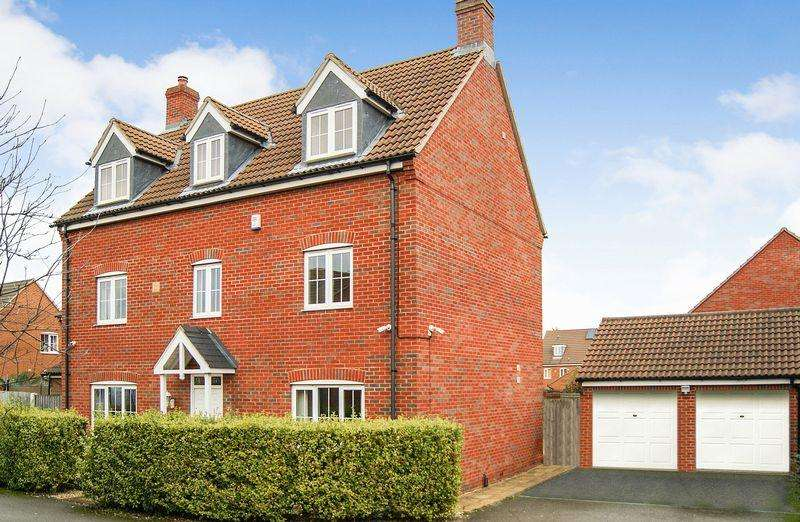 5 Bedrooms Detached House for sale in Thorneydene Gardens, Grantham