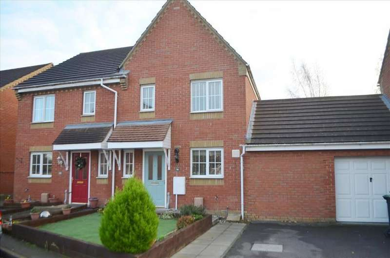 3 Bedrooms Semi Detached House for sale in Brunel Drive, Biggleswade, SG18