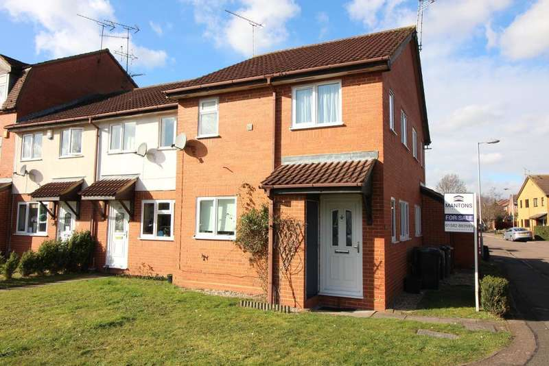 1 Bedroom Cluster House for sale in Marsom Grove, Luton, Bedfordshire, LU3 4BH
