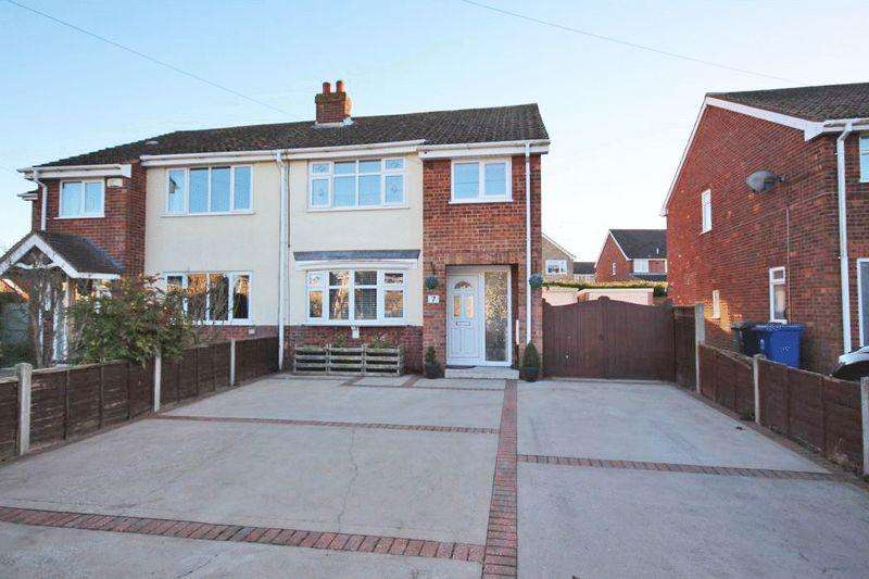 3 Bedrooms Semi Detached House for sale in MILSON ROAD, KEELBY
