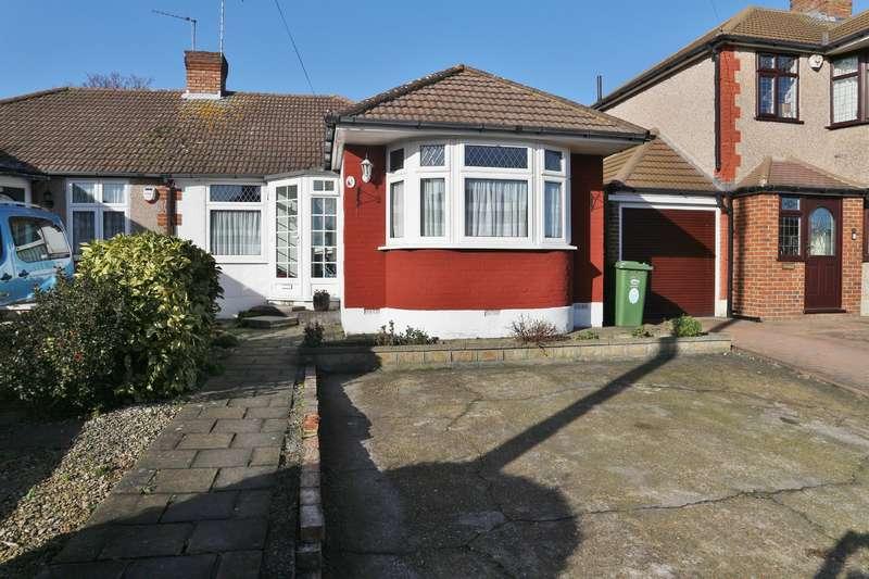 2 Bedrooms Semi Detached Bungalow for sale in Parsonage Manor Way, Upper Belvedere, Kent, DA17 6LL