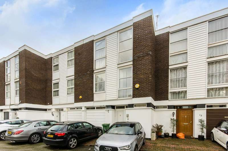 4 Bedrooms House for sale in Hornby Close, Belsize Park, NW3