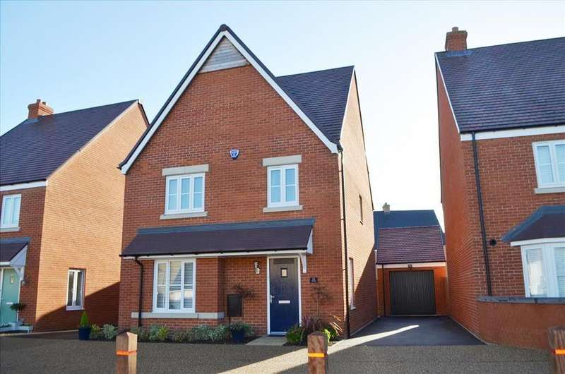 4 Bedrooms Detached House for sale in Darwin Drive, Biggleswade, SG18