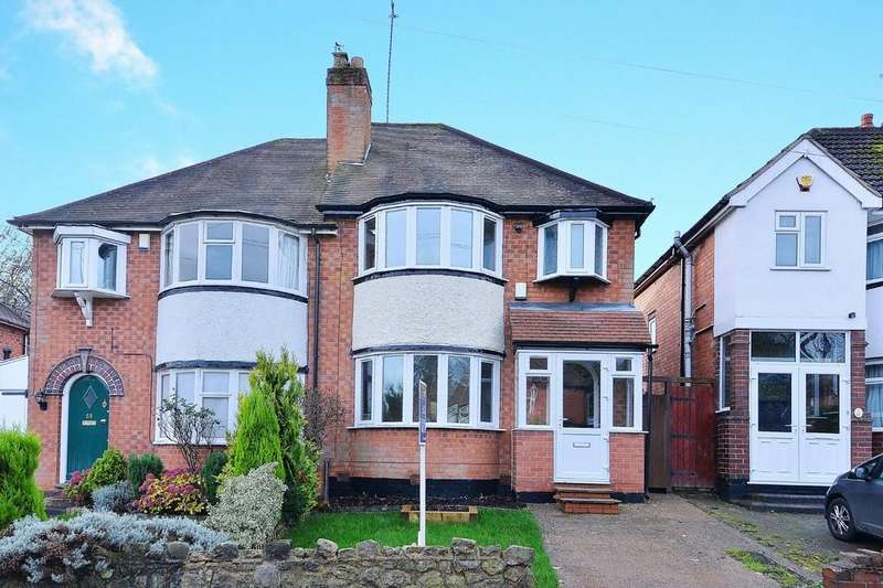 3 Bedrooms Semi Detached House for sale in Harts Green Road, Harborne, Birmingham, B17