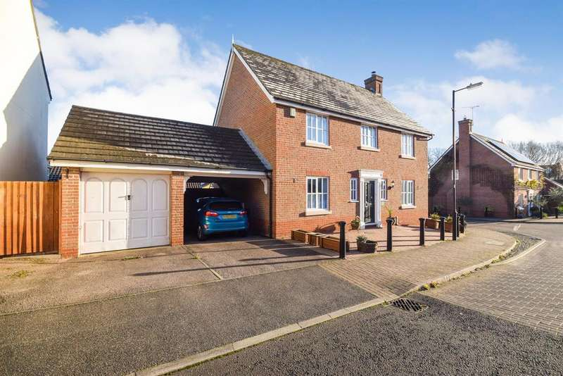 4 Bedrooms Detached House for sale in Wilkin Drive, Tiptree