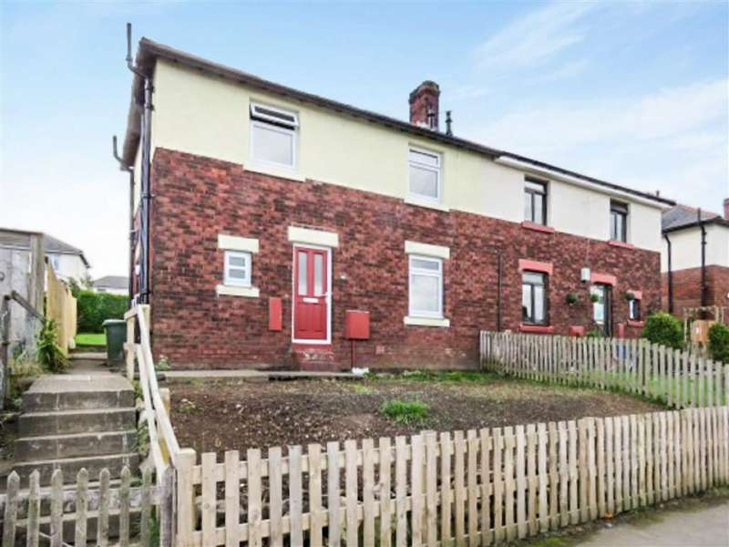 3 Bedrooms Semi Detached House for sale in Clayport Gardens, Alnwick, Northumberland