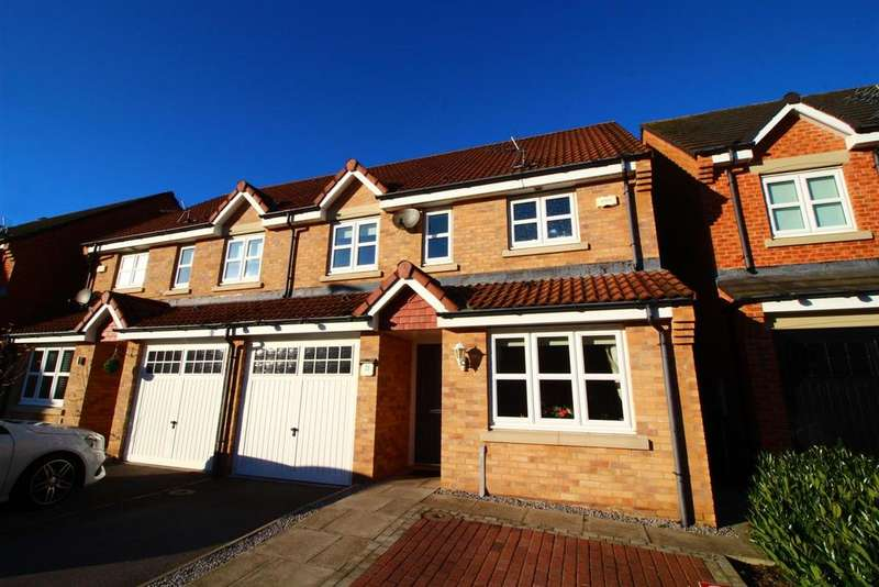 3 Bedrooms Semi Detached House for sale in The Brambles, New Hartley, Whitley Bay