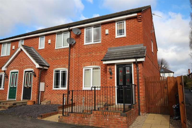 2 Bedrooms Town House for sale in Redbridge Close, Ilkeston