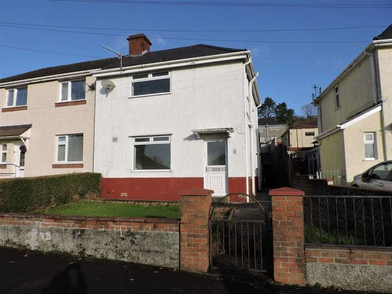 3 Bedrooms Semi Detached House for sale in Brynawel, Pontardawe