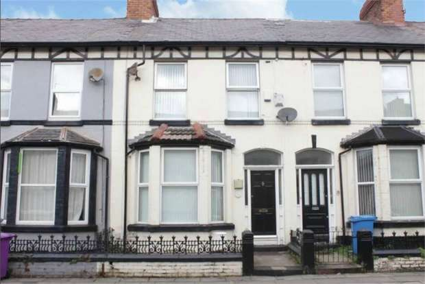4 Bedrooms Terraced House for sale in Ferndale Road, Wavertree, Liverpool, Merseyside