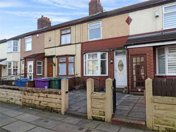 2 Bedrooms Terraced House for sale in Pirrie Road, Liverpool, Merseyside