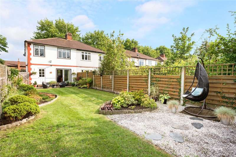 3 Bedrooms Semi Detached House for sale in Woodham Lane, New Haw, Addlestone, Surrey, KT15