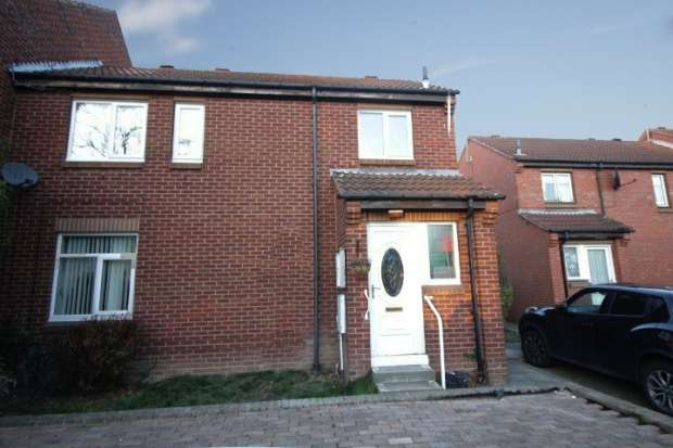2 Bedrooms Semi Detached House for sale in Carpenter Croft, Sheffield, South Yorkshire, S12 2DQ