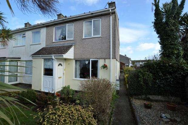 3 Bedrooms End Of Terrace House for sale in Boscathnoe Way, Heamoor, Penzance, Cornwall