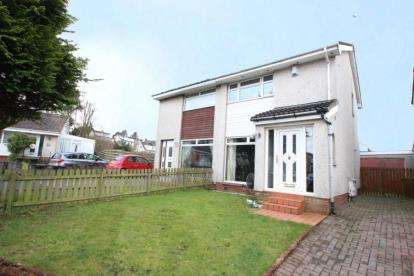 2 Bedrooms Semi Detached House for sale in Hayle Gardens, Moodiesburn, Glasgow, North Lanarkshire
