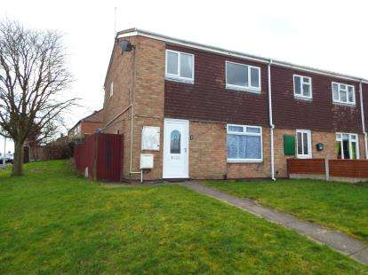 3 Bedrooms End Of Terrace House for sale in Cowlishaw Way, Rugeley, Staffordshire