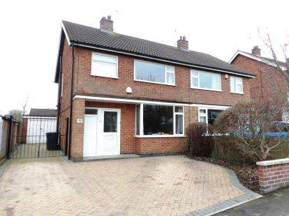 3 Bedrooms Semi Detached House for sale in Link Road, Anstey, Leicester, Leicestershire
