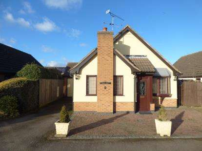2 Bedrooms Bungalow for sale in Milverton Close, Wigston, Leicester