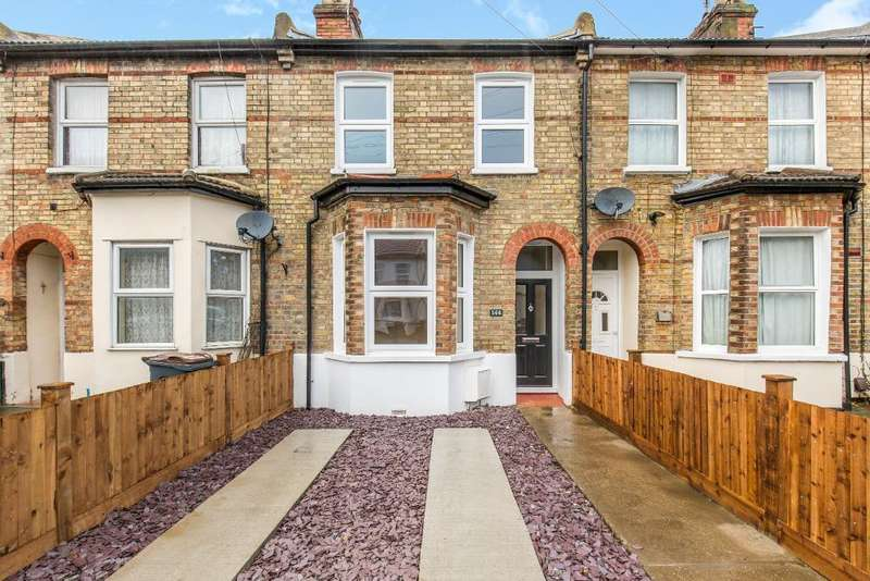 3 Bedrooms Terraced House for sale in Dennett Road, Croydon, Surrey, CR0 3JB