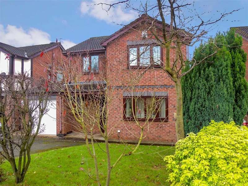 4 Bedrooms Detached House for sale in Werneth Hollow, Woodley, Stockport